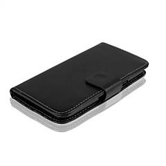 Χαμηλού Κόστους Άλλες θήκες / καλύμματα για Samsung-tok Για Samsung Galaxy Samsung Galaxy Θήκη Θήκη καρτών Πορτοφόλι με βάση στήριξης Ανοιγόμενη Πλήρης Θήκη Συμπαγές Χρώμα PU δέρμα για Core
