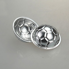 fodbold kage skimmel bagning gelé DIY giftfri chokolade pan aluminium fødselsdagskage skimmel