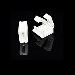 5 stuks 2-pins connector voor solderless 10mm 5050 enkele kleur waterdichte led strip verlichting