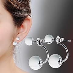 Dames Druppel oorbellen Kostuum juwelen Verzilverd Opaal  Sieraden Voor