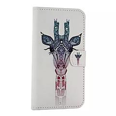 Mert Samsung Galaxy tok Kártyatartó / Állvánnyal / Flip / Minta / Mágneses Case Teljes védelem Case Állat Műbőr Samsung A8 / A7 / A5 / A3