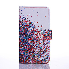 إلى موتورولا حالة أغط / كفرات محفظة حامل البطاقات مع حامل قلب كامل الجسم غطاء لون متغاير قاسي جلد اصطناعي إلى Motorola