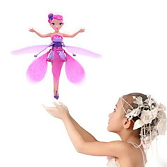 RC helikopter Hovering Angel 2ch Zweven Afstandsbediening Afstandsbediening Rainbow licht Flying Fairy Princess Boven je hand