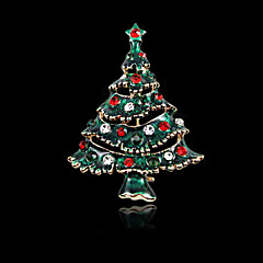 Natal broche árvore