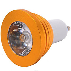 cheap LED Bulbs-YWXLIGHT® 300 lm E14 GU10 E26/E27 LED Spotlight MR16 1 leds High Power LED Dimmable Remote-Controlled RGB AC 85-265V