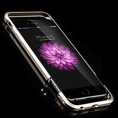сплошной цвет стиль ультра-тонкий металлический бампер для iPhone кадров 6 (разных цветов)
