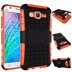 Armor Case Hybrid Kickstand Display Cover Combo Hard PC + TPU Case For Samsung Galaxy J1/J5/J7/E5/E7