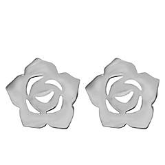 Серьга В форме цветка Серьги-гвоздики Бижутерия 2 шт. Для вечеринок / Повседневные Сплав Женский