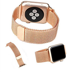 voordelige Apple Watch-accessoires-Horlogeband voor Apple Watch Series 4/3/2/1 Apple Milanese lus Roestvrij staal Polsband