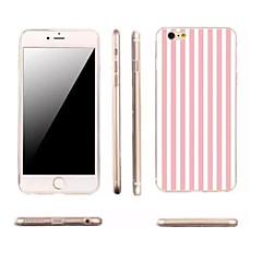 Назначение iPhone X iPhone 8 iPhone 6 iPhone 6 Plus Чехлы панели Ультратонкий С узором Задняя крышка Кейс для Полосы / волосы Мягкий