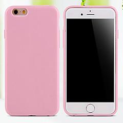 halpa iPhone 5S / SE kotelot-Etui Käyttötarkoitus iPhone 5 Apple iPhone 5 kotelo Other Takakuori Yhtenäinen väri Pehmeä TPU varten iPhone SE/5s iPhone 5