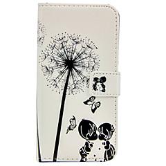 halpa Galaxy S6 Edge kotelot / kuoret-lapsuus rakastavaiset kuvio helpotus PU nahka lompakko tapauksessa jalustan ja kortin haltijan Samsung Galaxy S6 / S6 reuna / S5
