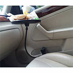 2015 Newest Auto Supplies Car Big Computer Desk Multi-function Dinner Table Creative Supporting Plate(Black,White)