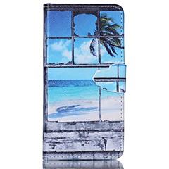 olcso Galaxy A5 tokok-Mert Samsung Galaxy tok Kártyatartó / Állvánnyal / Flip / Minta / Mágneses Case Teljes védelem Case Látvány Műbőr Samsung A5 / A3