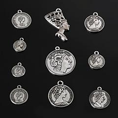 Amulettek / Medálok Fém Round Shape A Picture 3-18pcs