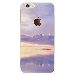 Недорогие Кейсы для iPhone-Кейс для Назначение Apple iPhone 6 Plus / iPhone 6 С узором Кейс на заднюю панель Цвет неба / Пейзаж Мягкий ТПУ для iPhone 6s Plus / iPhone 6s / iPhone 6 Plus