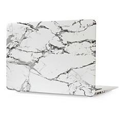 hesapli MacBook Aksesuarları-MacBook Kılıf için Mermer Plastik MacBook Pro, 13-inç