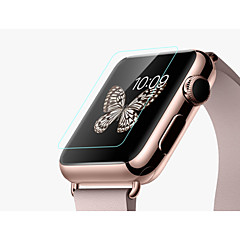 abordables Protectores de Pantalla para Apple Watch-reloj de pulsera lucencia r hoco protector de pantalla de cristal templado de 38mm 42mm aatch manzana