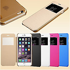 intelligens néző érintőképernyős pu bőrtok iPhone5 / 5s (vegyes színek)