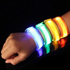 LED-hardlooparmband Reflecterende strip Reflecterende gordel Hoge zichtbaarheid Veiligheid voor Kamperen/wandelen/grotten verkennen