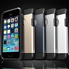 제품 iPhone X iPhone 8 아이폰5케이스 케이스 커버 충격방지 뒷면 커버 케이스 갑옷 소프트 실리콘 용 iPhone X iPhone 8  Plus iPhone 8 iPhone SE/5s iPhone 5