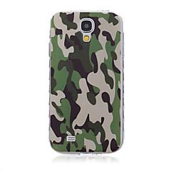 voordelige Galaxy S6 Edge Hoesjes / covers-Voor Samsung Galaxy hoesje Patroon hoesje Achterkantje hoesje Camouflage Kleur TPU SamsungS6 edge plus / S6 edge / S6 / S5 Mini / S5 / S4