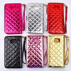 Для Samsung Galaxy Note Бумажник для карт / Кошелек / со стендом / Флип Кейс для Чехол Кейс для Геометрический рисунок Искусственная кожа