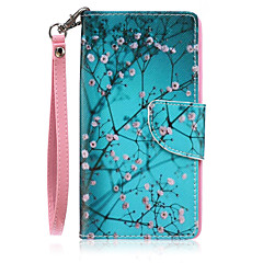 cheap Cases / Covers for Huawei-Case For Huawei P9 Lite / Huawei Y560 / Huawei P9 Lite / P8 Lite / Huawei Case Wallet / Card Holder / with Stand Full Body Cases Tree Hard PU Leather for Huawei P9 Lite / Huawei P8 Lite / Huawei