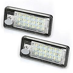 Недорогие Дневные фары-2pcs Автомобиль Лампы 3W Светодиодная лампа Задний свет For Audi B6 / 4F / 8P