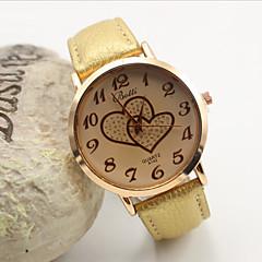 お買い得  レディース腕時計-女性用 クォーツ カジュアルウォッチ レザー バンド Elegant ファッション ブラック 白 オレンジ ブラウン ゴールド