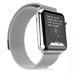 voordelige Apple Watch-accessoires-Horlogeband voor Apple Watch Series 3 / 2 / 1 Apple Polsband Milanese lus Roestvrij staal