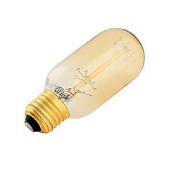 お買い得  LED 電球-YouOKLight 1個 400 lm E26/E27 LEDボール型電球 B 7 Tungsten Filament LEDの SMD 装飾用 温白色 AC 220-240V