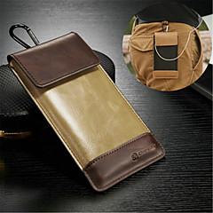 univerzális valódi bőr fém kulcstartó esetében Samsung Galaxy Note / note 2 / veszi 3 / jegyzetet 4 / 5. megjegyzés