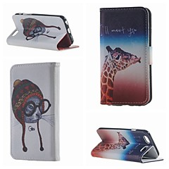 Недорогие Кейсы для iPhone 6 Plus-Кейс для Назначение Apple iPhone 6 Sexy Lady Соблазнительная девушка Твердый Кожа PU для Apple