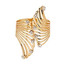 preiswerte Armbänder-Synthetischer Diamant Manschetten-Armbänder - Kubikzirkonia, Diamantimitate Feder Luxus, Einzigartiges Design, Retro Armbänder Farbbildschirm Für Weihnachts Geschenke