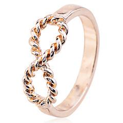 preiswerte Ringe-Damen Bandring / Statement-Ring - versilbert, vergoldet Modisch 7 Silber / Golden Für Party / Alltag / Normal