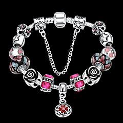 preiswerte Armbänder-Damen Kristall Ketten- & Glieder-Armbänder - Kubikzirkonia Retro, Party, Modisch Armbänder Regenbogen Für Alltag