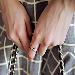 Недорогие Набор колец-Жен. Набор украшений Серебряный Золотой Сплав Мода Для вечеринок Повседневные Бижутерия