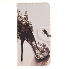 Недорогие Чехлы и кейсы для LG-Кейс для Назначение LG LG G4 Кейс для LG Бумажник для карт Кошелек со стендом Флип Чехол Соблазнительная девушка Твердый Кожа PU для