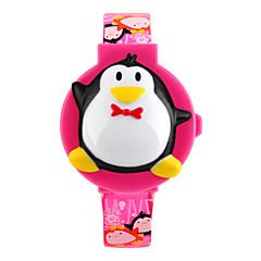 preiswerte Damenuhren-digital Armbanduhr PU Band Charme / Modisch Blau / Rot / Rosa / Lila / Rose
