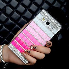 billige Galaxy A5 Etuier-For Samsung Galaxy etui Rhinsten Etui Bagcover Etui Farvegradient PC for Samsung A8 A7 A5 A3