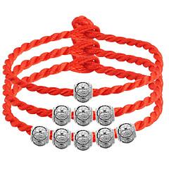 preiswerte Armbänder-Glasperlen Bettelarmbänder / Strang-Armbänder - Sterling Silber Armbänder 3 # / 4 # / 5 # Für Hochzeit / Party / Alltag