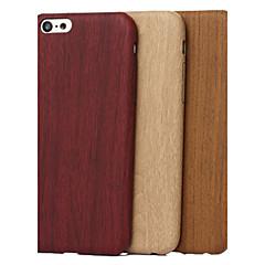 Недорогие Кейсы для iPhone-Кейс для Назначение Apple iPhone X iPhone 8 Кейс для iPhone 5 С узором Кейс на заднюю панель Имитация дерева Мягкий ТПУ для iPhone X