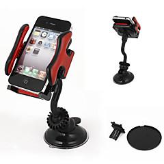 preiswerte Auto Haltuerung & Unterstützung-Auto Windschutzscheibenhalterung 360-Grad-Handy GPS mp4 Navigationshalter schwarz rot