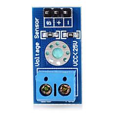 お買い得  センサー-ArduinoのためのB25電圧センサボードモジュール - ブルー