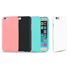 For iPhone 8 iPhone 8 Plus iPhone 7 Plus iPhone 6 iPhone 6 Plus Case Cover Shockproof Back Cover Case Solid Color Soft TPU for Apple