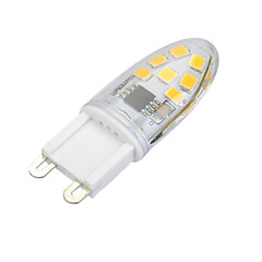 Χαμηλού Κόστους Λαμπτήρες LED-3 W 200 lm G9 LED Φώτα με 2 pin Χωνευτή εγκατάσταση 14 leds SMD 2835 Με ροοστάτη Θερμό Λευκό Ψυχρό Λευκό AC 220-240V