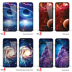 "iPhone 6/6S Art Skin Sticker: ""Space, Nebula, Planets, Outer Space, Andromeda Galaxy and Black Hole"" (Universe Series)"