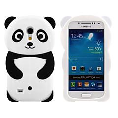 halpa Galaxy S4 Mini kotelot / kuoret-Varten Samsung Galaxy kotelo Kuvio Etui Takakuori Etui 3D piirros Silikoni Samsung S4 Mini / S3 Mini