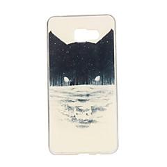 Mert Samsung Galaxy tok Minta Case Hátlap Case Állat TPU Samsung A7(2016) / A5(2016) / A3(2016) / A7 / A5 / A3